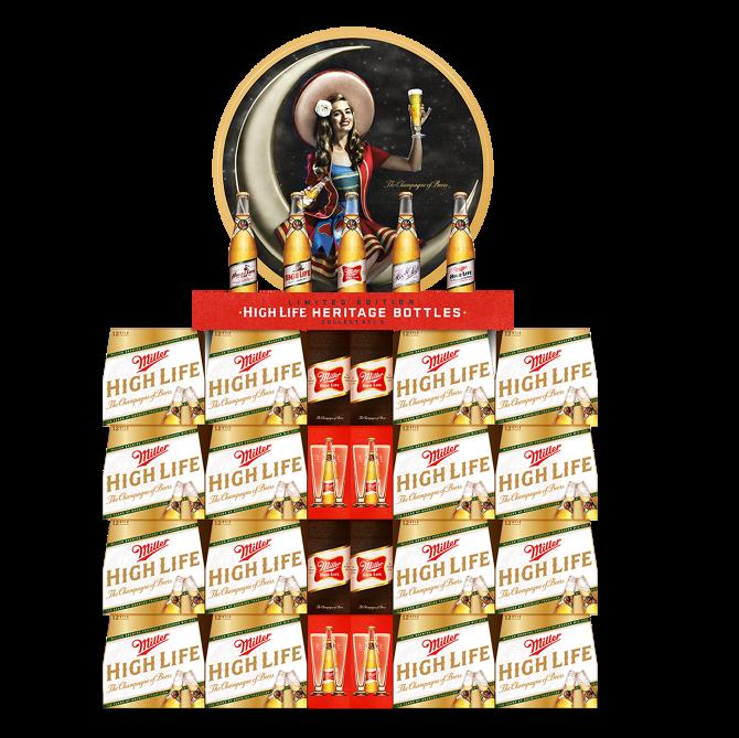 Miller High Life: Heritage Labels