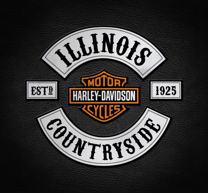 Harley Davidson - illujustrate.com