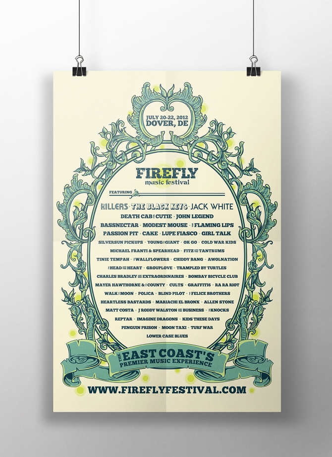 Firefly Music Festival Posters - Samantha Willey | Graphic ...